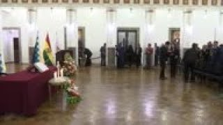 Bolivia: Cabinet named by A ez sworn in