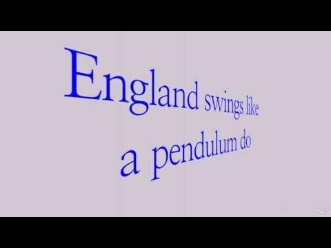 England Swings | Roger Miller | Lyrics ☾☀