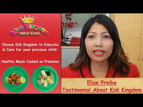Elsie Preibe Testimonial about Kidi Kingdom Child Care