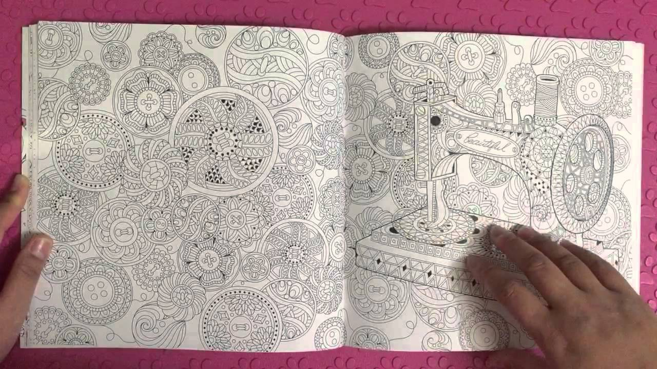 Preview Beautiful Day Coloring Book Korea