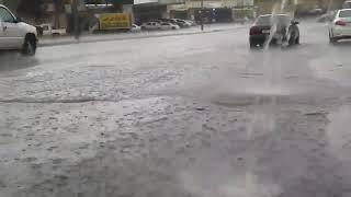 بالفيديو.. أمطار غزيرة وصواعق بسماء صناعية الطائف - صحيفة صدى الالكترونية