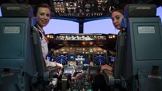 Dünyada ilk kadın pilot