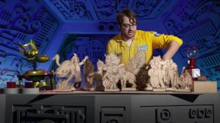 MST3K Jonah's Kaiju Rap (Every Country has a Monster) 1080p