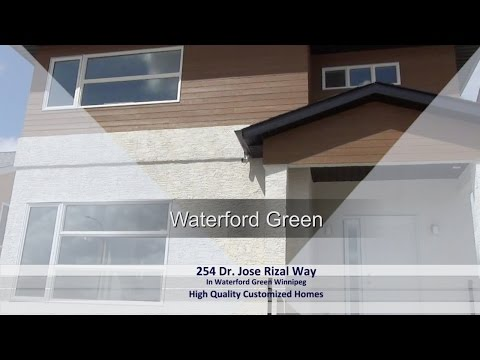 254 Dr. Jose Rizal Way In Waterford Green Winnipeg