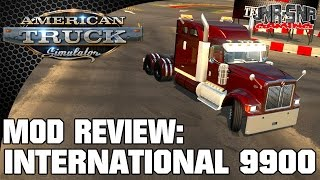 Ats Mods | International 9900 | American Truck Simulator Mod Review | Ats Mod Review