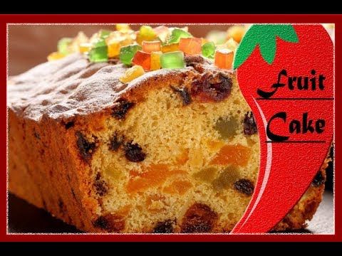 Fruit Cake Recipe Without Alcohol I Christmas Fruit Cake Without Alcohol Iফ্রুট কেক রেসিপি I RCC45
