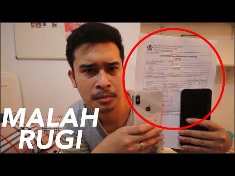 Unboxing iPhone XS Max, Kena Bea Cukai Bayar 10.000.000 Dari Singapore (Indonesia)