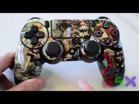 PS4 Playstation 4 Controller Skin Application Install Help Tips and Review (Dualshock 4)