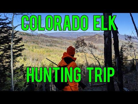 Colorado Elk Hunt Camping Trip 2019