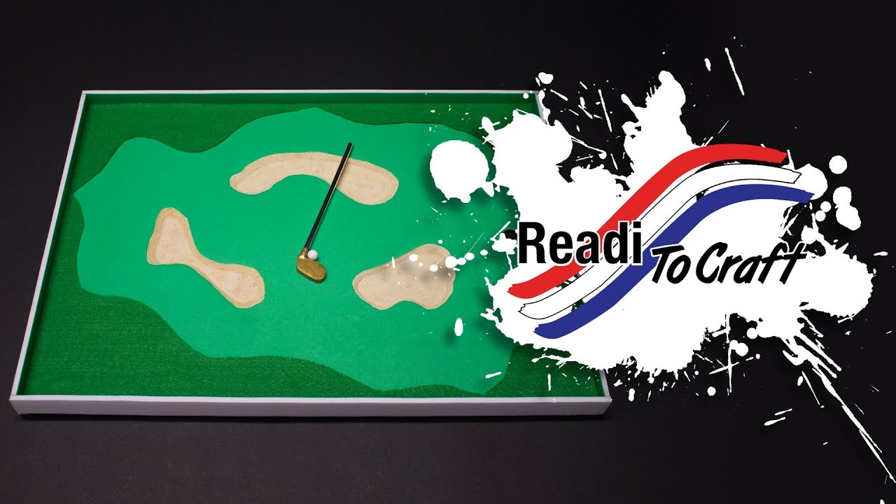 Readi to Craft: Tabletop Golf