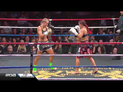 Lion Fight 13: Caley Reece vs Tiffany van Soest thumbnail