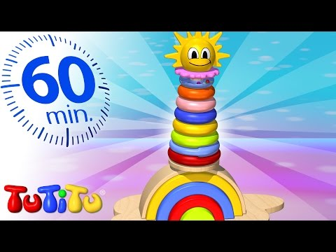 TuTiTu Specials | Rainbow Tower | And Other Learning Toys | 1 HOUR Special