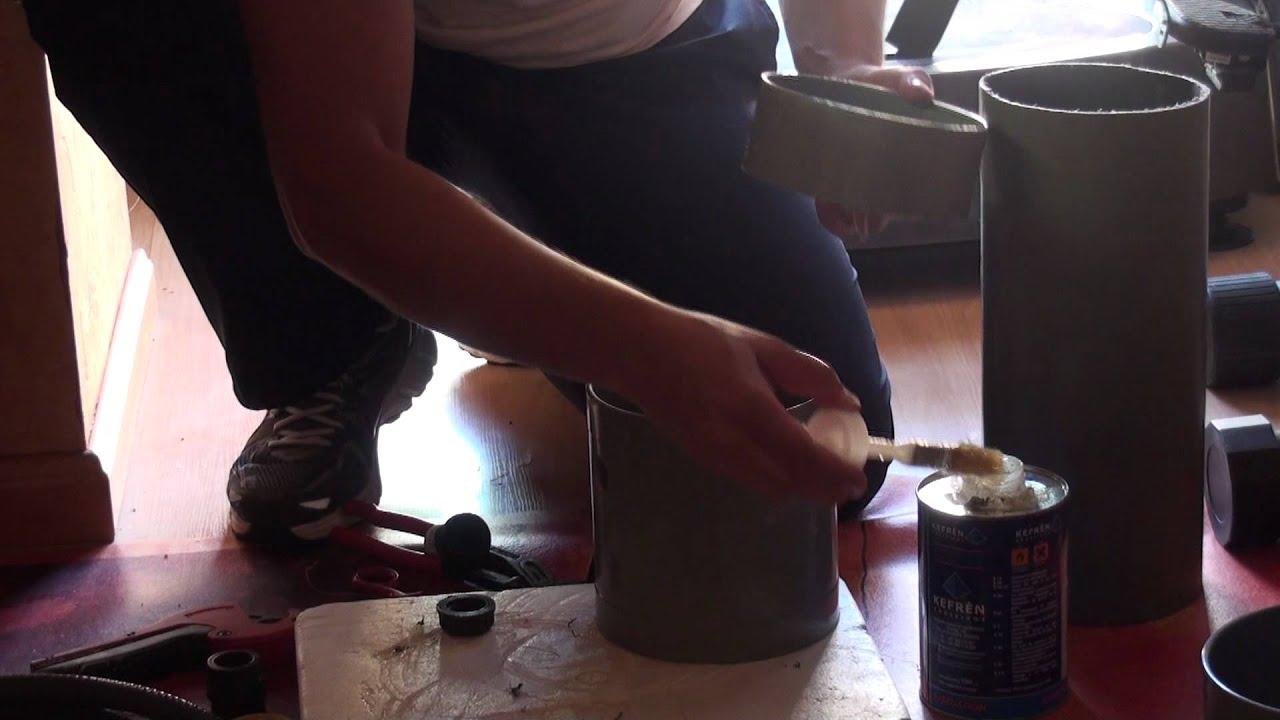 Fabricaci n de un filtro casero de pvc youtube for Como hacer un filtro para piscina