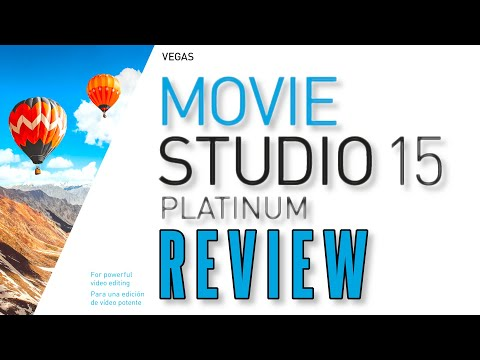 Vegas Movie Studio 15 Platinum Review: Changes from 14