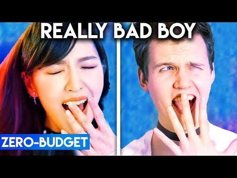 K-POP WITH ZERO BUDGET! (Red Velvet - Really Bad Boy)