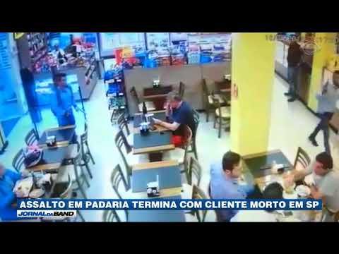 SP: Assalto Em Padaria Mata Um Cliente E Fere Policial