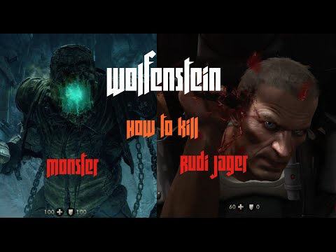 Wolfenstein The Old Blood How To Kill Rudi Jager Boss And Final Boss Monster