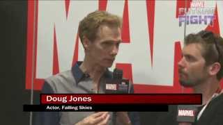 Doug Jones Relives his Silver Surfer Days on Marvel LIVE! at San Diego Comic-Con 2015