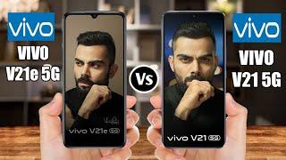 Vivo V21e 5G Vs Vivo V21 5G