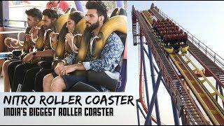 India's Biggest Roller Coaster - NITRO | Imagica Park | Mohit Chhikara Vlogs