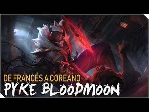 DE FRANCES A COREANO | PYKE Luna Sangrienta | PUM DAMAGE!
