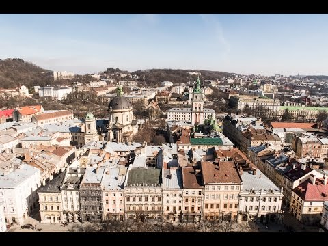 THE FAIRYTALE CITY OF LVIV, UKRAINE