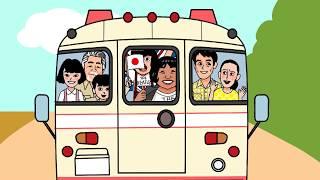 NHK連続テレビ小説「ひよっこ」キャストの、ひよ絵アニメーションです。...