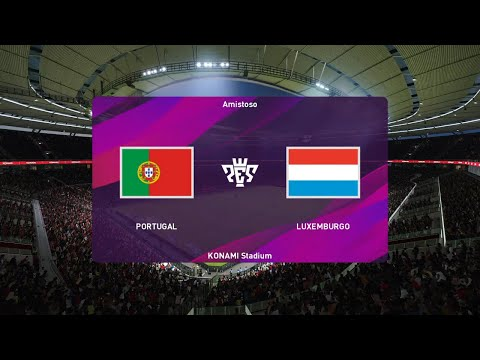 PORTUGAL vs LUXEMBURGO Clasificacion Eurocopa 2020 Gameplay | PES 2020 from YouTube · Duration:  14 minutes 16 seconds