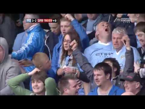 Manchester City 3-2 QPR 13 May 2012 The Last 5 Minutes SKY Sports Martin Tyler 720P