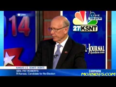 PAT ROBERTS vs GREG ORMAN Kansas Senate Debate