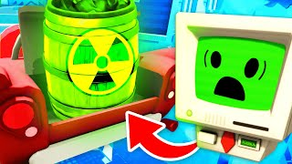 DETONATING The BIGGEST Secret Atomic Bomb EVER (Job Simulator VR Funny Gameplay)