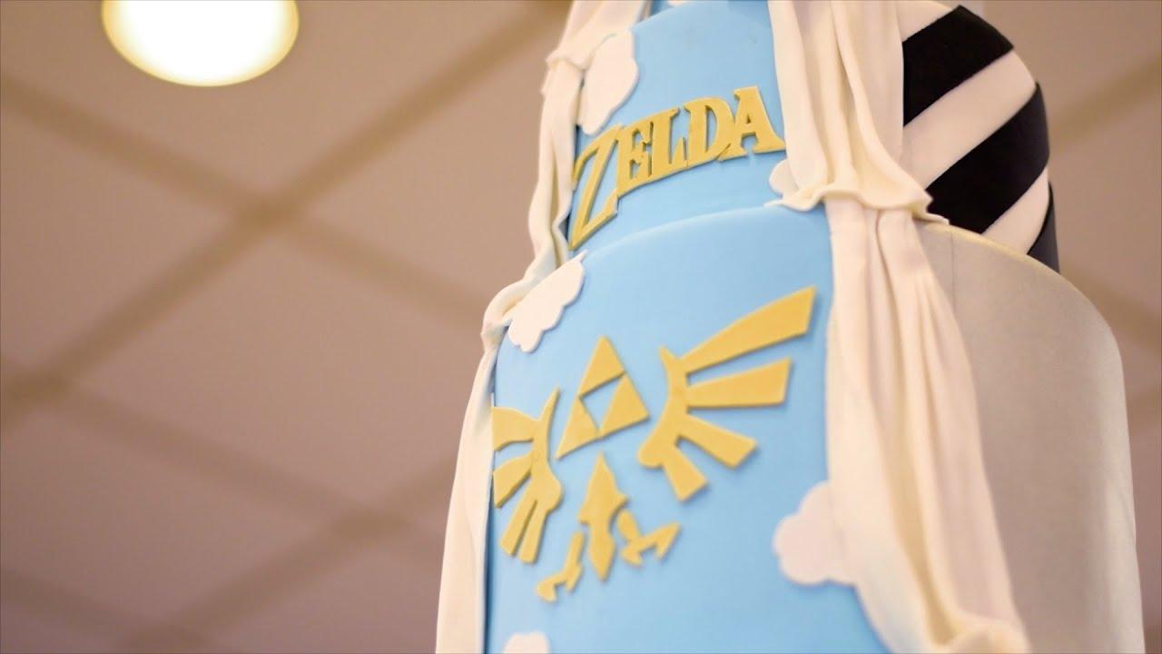 Legend Of Zelda Wedding Cake Red Velvet Cakes Pastries Youtube