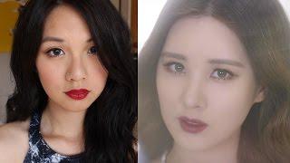 SEOHYUN (서현) Girls' Generation TTS 소녀시대-태티서 Dear Santa Makeup Inspired Look