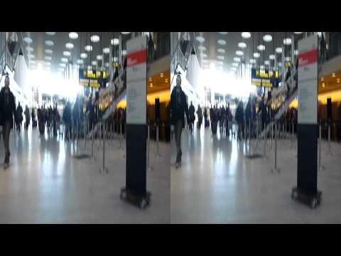 3D Camera on Cart at Airport - Copenhagen