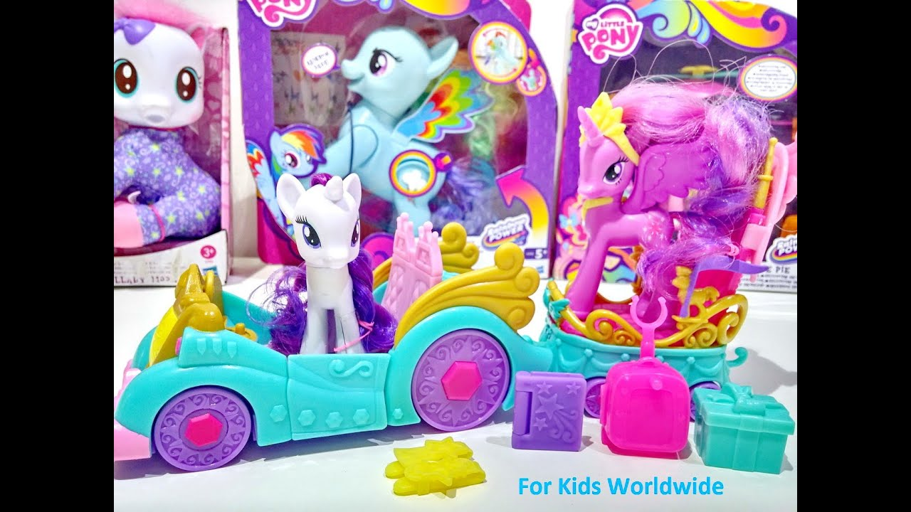 My Little Pony Princess Celebration Cars Set Mlp From