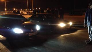 Драг Mitsubishi Lancer 9 & Nissan Primera
