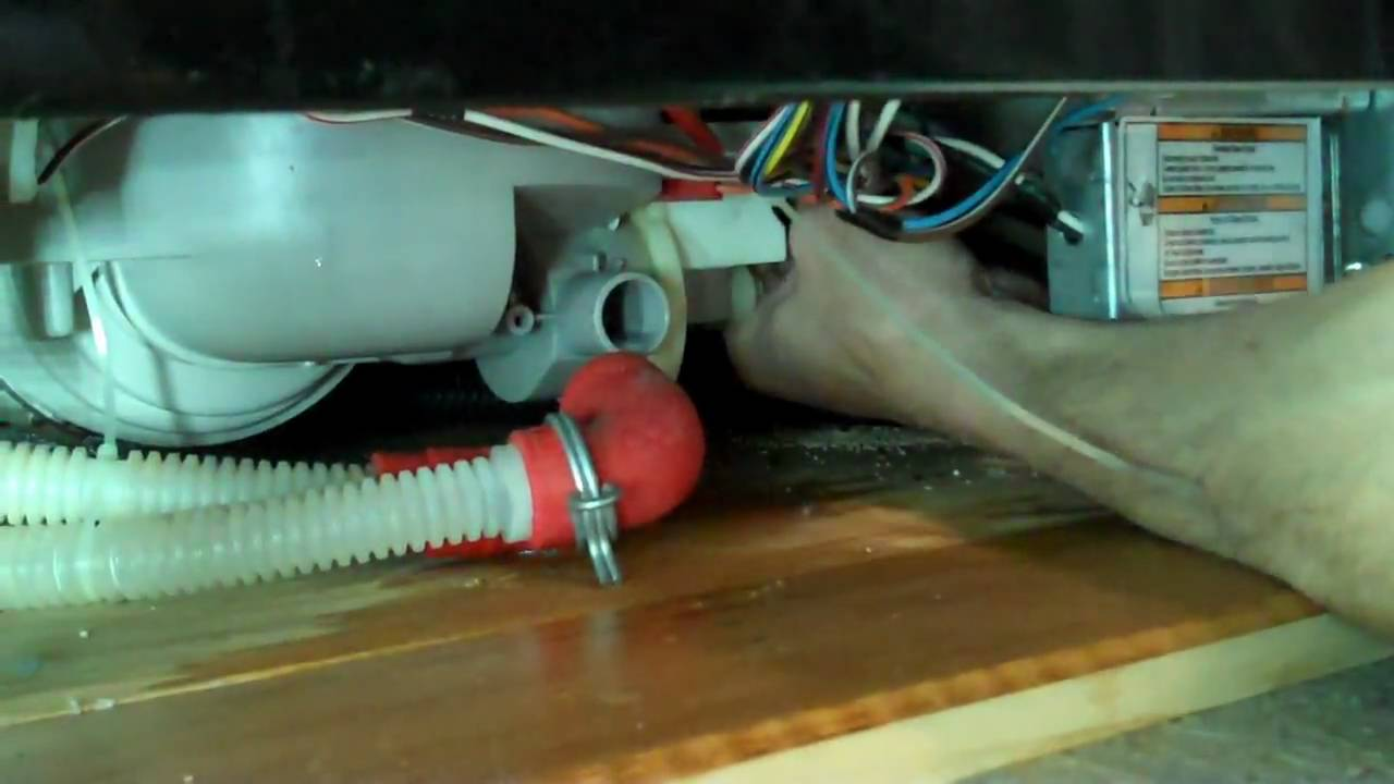 hight resolution of replacing the motor pump assembly in a whirlpool built dishwasher youtube