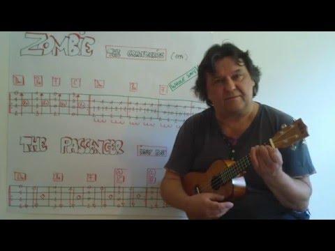 Fingerstyle Ukulele Lesson 41 Riffs Intros Songs 7 Zombie