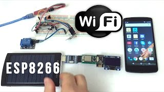 ESP8266 WiFi enabled NRF24L01 Hub with Arduino Nodes Controlled over Internet Smart Home IoT