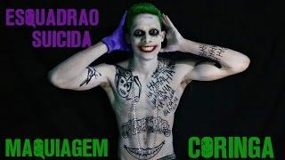 Maquiagem Coringa (Esquadrão Suicida)   Joker Makeup (Suicide Squad)