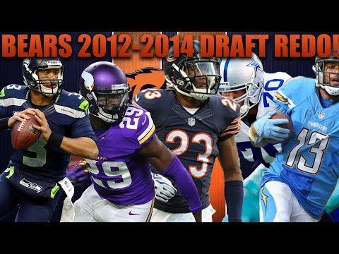 Chicago Bears 2012-2014 Nfl Draft Redo! Madden 18 Bears Franchise Experiment!