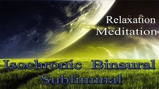 Deep Relaxation + Emotional Balance Brainwave Entrainment Meditation Music | Iso Binaural Subliminal