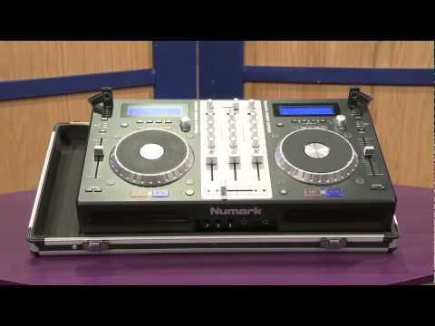 Numark Mixdeck Express DJ Controller CD/MP3/USB Playback, Serato - Overview | Full Compass