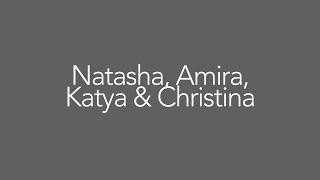 Natasha, Amira, Katya, & Christina #InaugurationStories2017