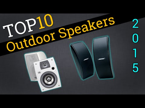 Top 10 Outdoor Speakers 2015 | Compare Speakers