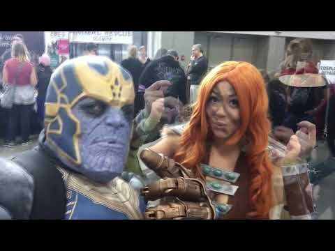 thanos cosplay my first cosplay event please like & subscribe