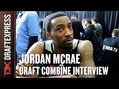 Jordan McRae Draft Combine Interview