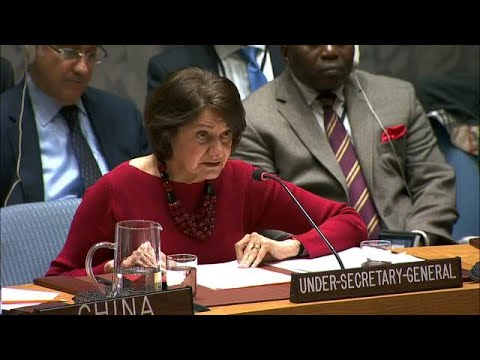 UN Political Affairs Chief On The Situation In Ukraine - Security Council (26 November 2018)