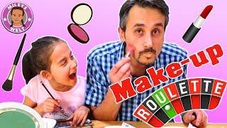 Makeup Roulette Challenge mit Papa - wen trifft es härter ? | Mileys Welt