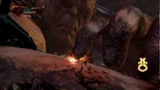 """God of War III HD Walkthrough - Part 19 """"The Pit of Tartarus and Battle with Chronos"""""""